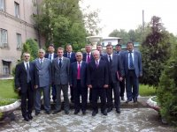 High level EAG Mission and TANA Mission to Tajikistan took place on June 2-3, 2009