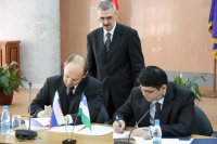 Russia and Uzbekistan sign agreement on technical assistance cooperation in AML/CFT in Moscow (Russia) on October 5