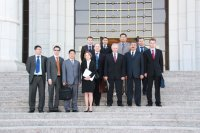 High level EAG Mission to Turkmenistan took place in April 2009.